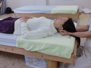 カイロプラクティックによる首の検査