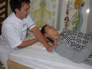 カイロプラクティックベリーの肩こり施術